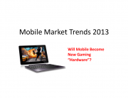 Mobile gaming 2013