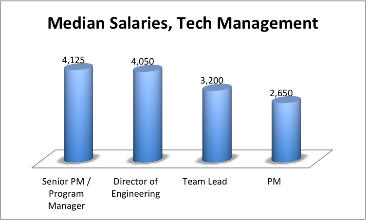 software engineering salary, it management salaries ukraine