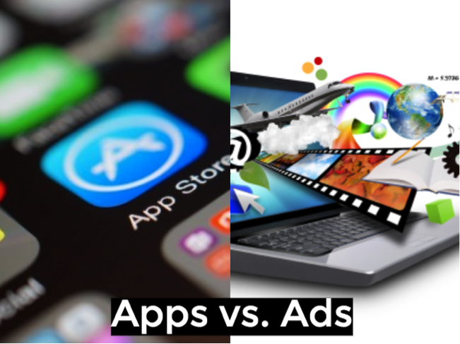 apps vs ads, mobile apps for marketing