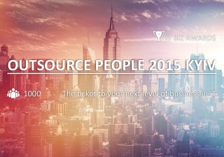 Outsource People 2015