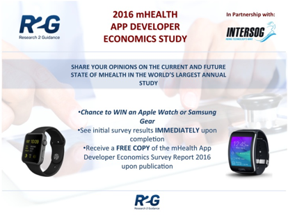 mHealth App Developer Economics Study 2016