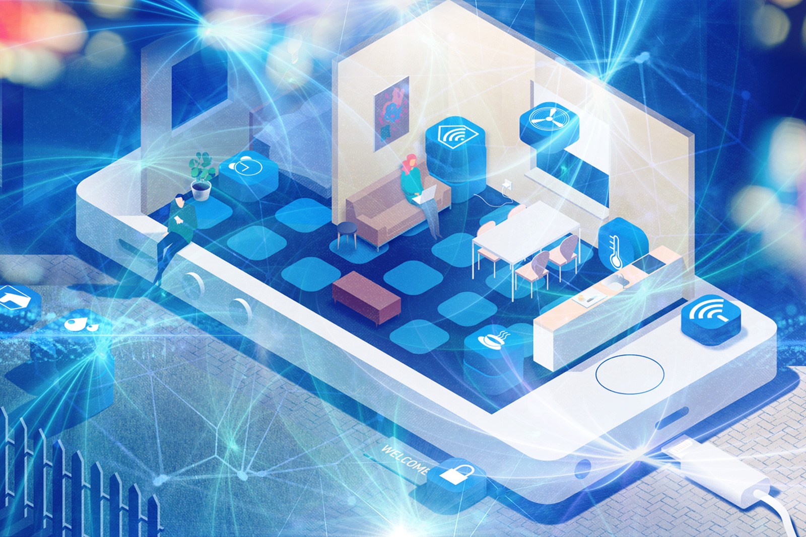 Developing the Internet of Things (IoT) Apps for Smart Homes