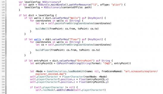 swift code, apple swift code
