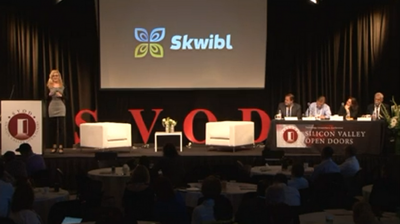 skwibl, silicon valley open door, svod
