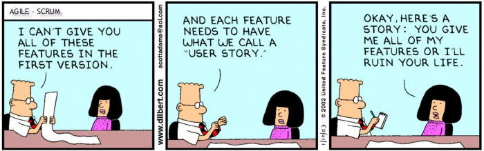 user stories in software development