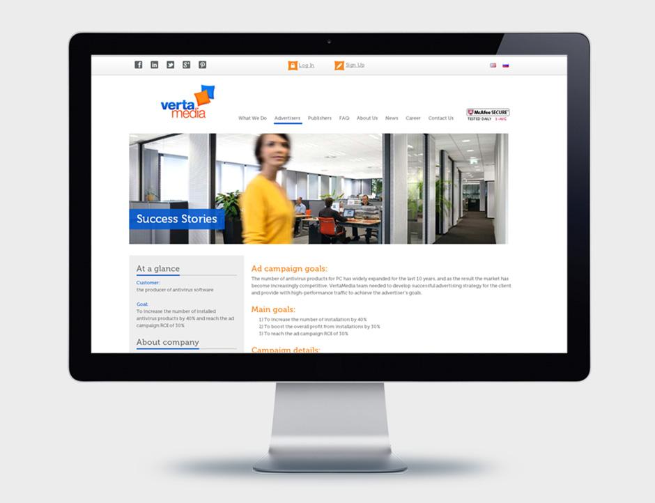 VertaMedia company